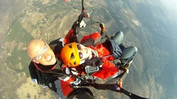 Paragliding tandem with Nadia in Istra